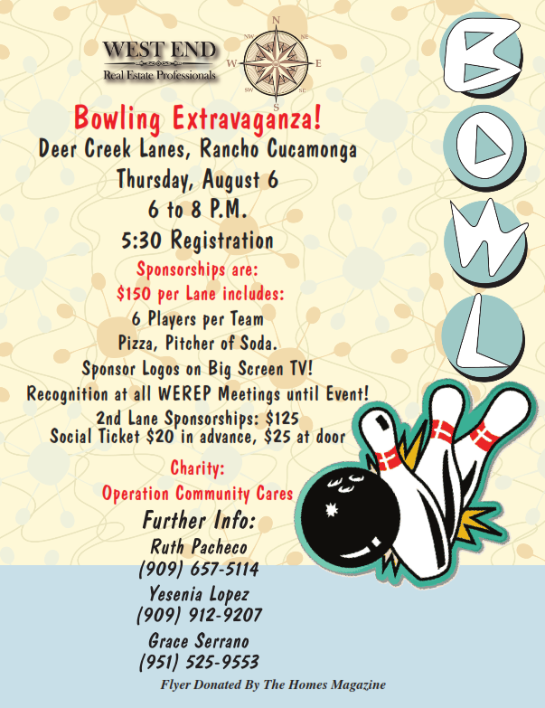 Bowling Flyer 2015